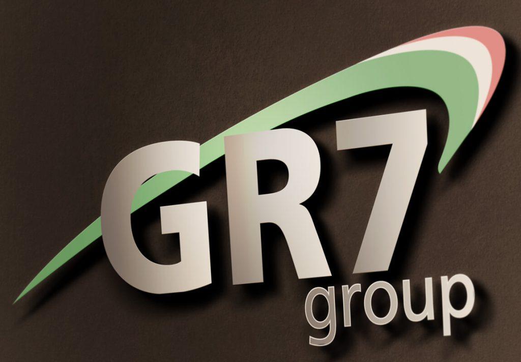 GR7 Group Stilizazione logo