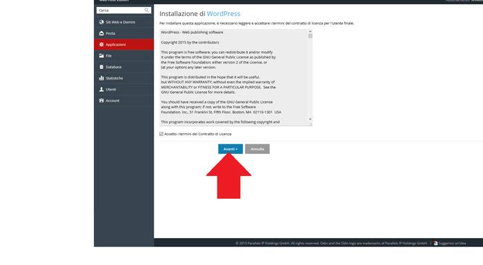 Wordpress come installarlo